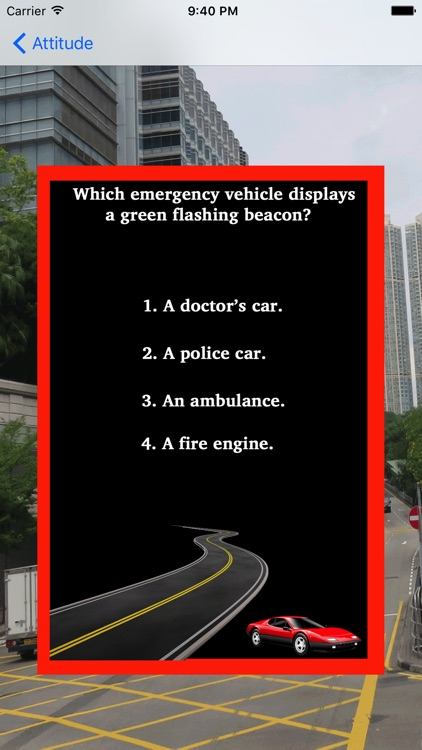 Theory Test For Learner Car Drivers & Road Signs screenshot-4