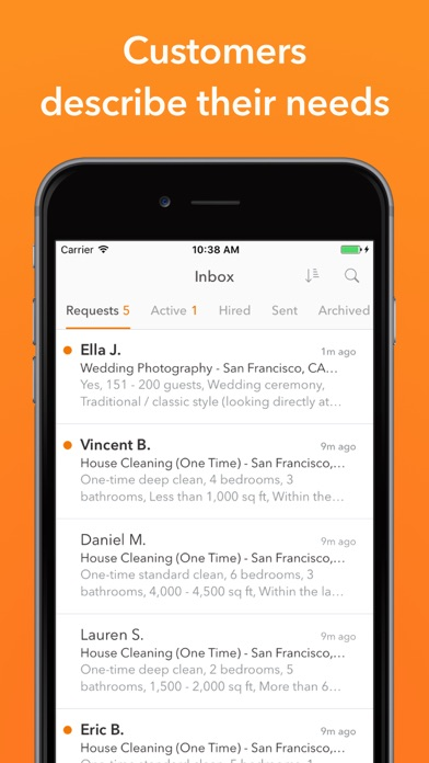 Thumbtack for Professionals app image