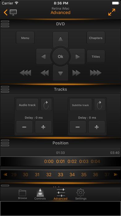 VLC Remote Lite screenshot four