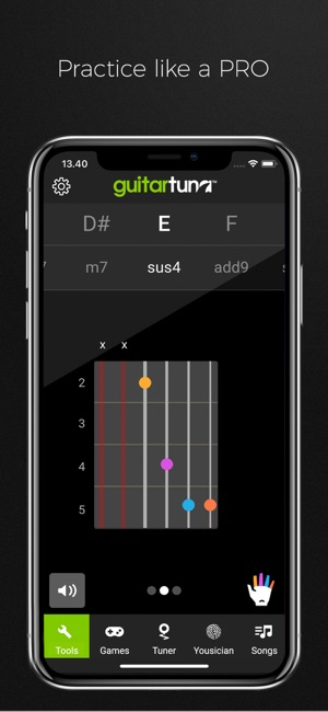 Guitartuna Guitar Bass Tuner On The App Store