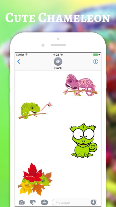 download Chameleon Color Stickers apps 3