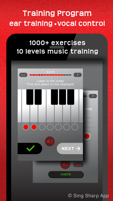 Learn to Sing, Singing Lessons Screenshot