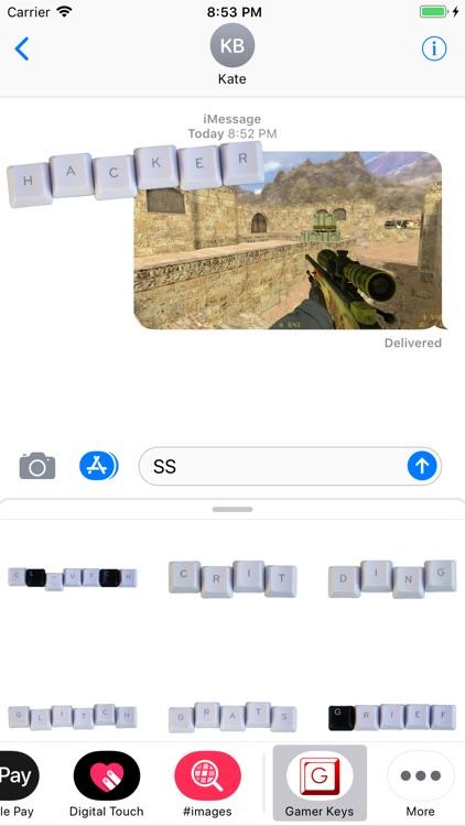 Gamer Keys - Sticker Pack