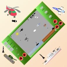 Activities of Helicopter vs Enemies Battle Retro