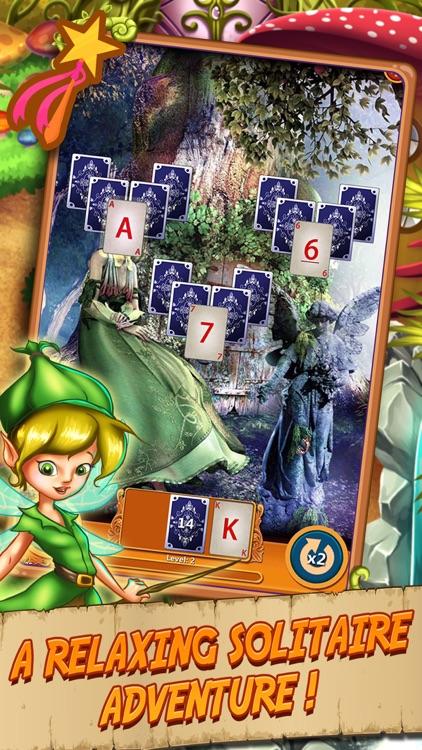Solitaire Elven Wonderland screenshot-0