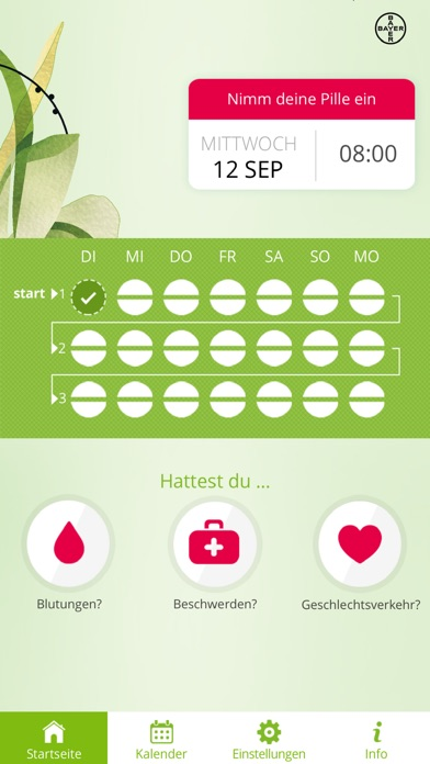 Screenshot for Pillenalarm+ DE in Germany App Store