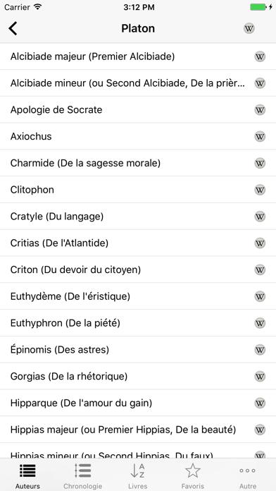 Philosophie (Anthologie de la) Screenshot 2