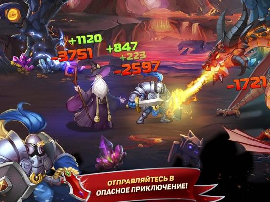 Скачать игру Tap Knights: монстр & герои