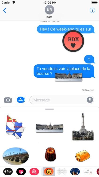 Stickers de Bordeaux