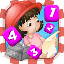 A Construction Site Counting Game for Children: Learning to count with the builder