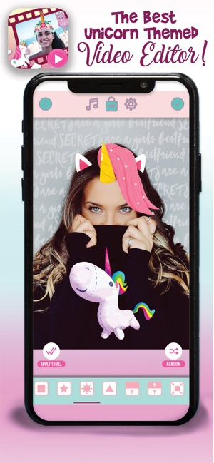 Unicorn Picture Video Editor on the App Store
