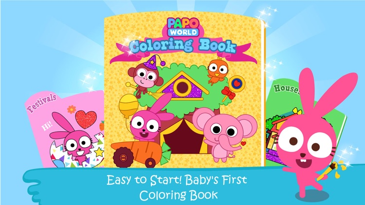 Purple Pink Coloring Book-Kids