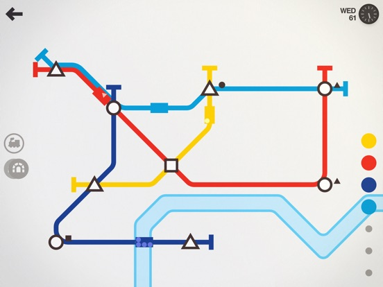 Screenshot #2 for Mini Metro