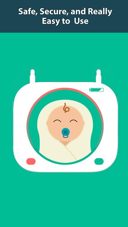 Secure Baby Monitor: Video, Audio, Wifi, Bluetooth screenshot-4