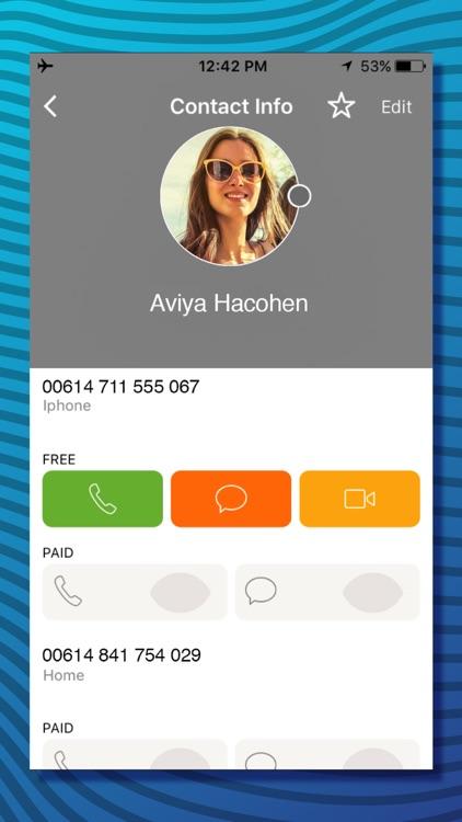 VAYA Free Call Video & Text screenshot-3