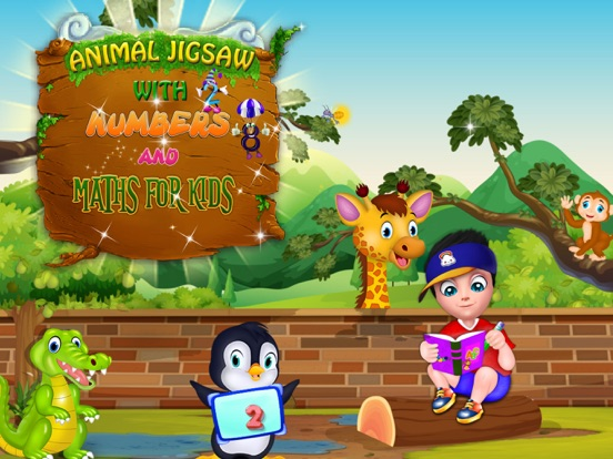 Animal Jigsaw with Basic Maths Screenshots
