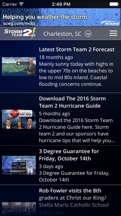 WCBD Weather screenshot-4