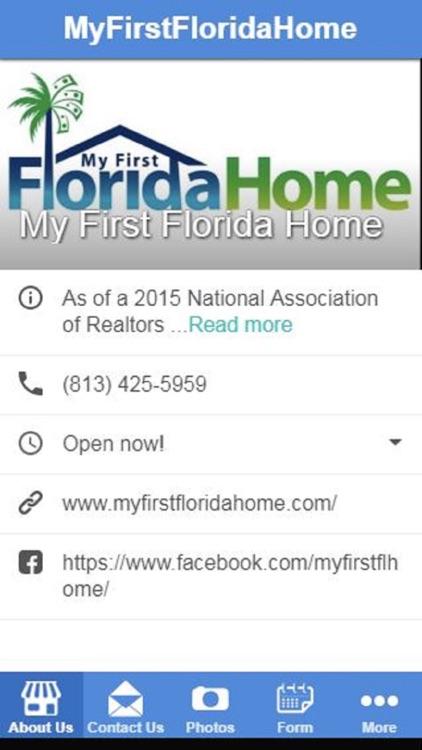 MyFirstFloridaHome App