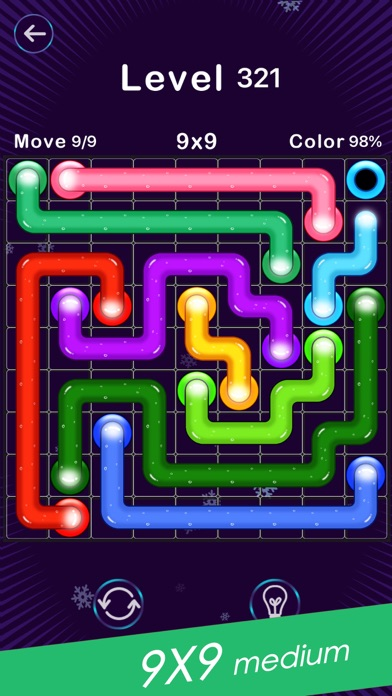 Screenshot for Color Line -Fill Block Puzzle in Ukraine App Store
