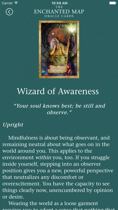 Enchanted Map Oracle Cards screenshot 5