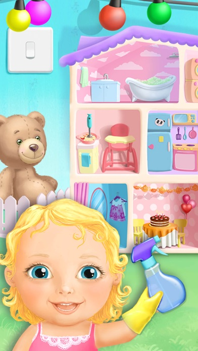 Sweet Baby Girl Dollhouse FULL screenshot 1