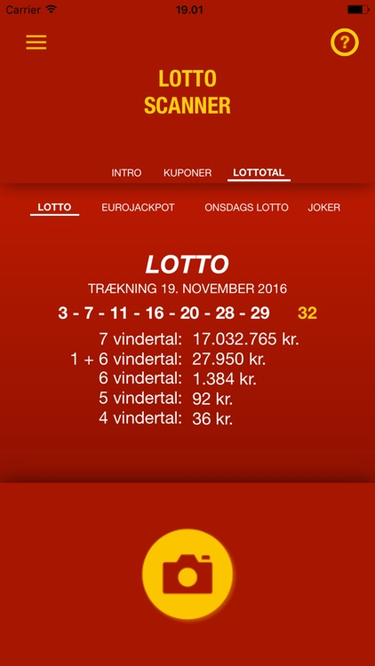 Lotto Scanner DK screenshot-3