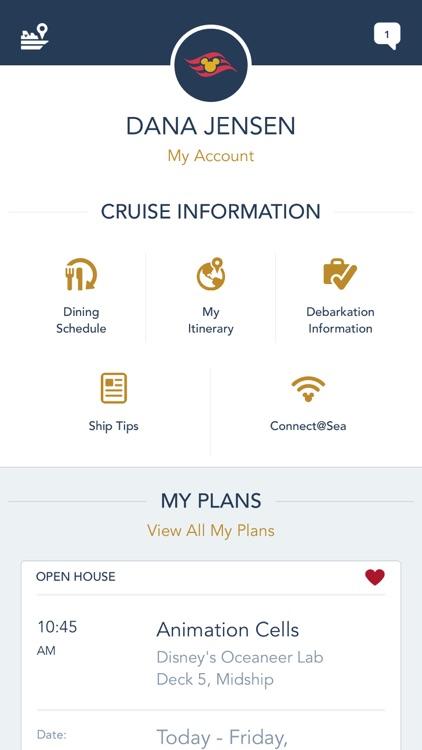 Disney Cruise Line Navigator screenshot-3