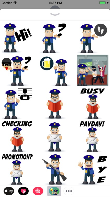 Police Moji-Emoji for Police screenshot-0