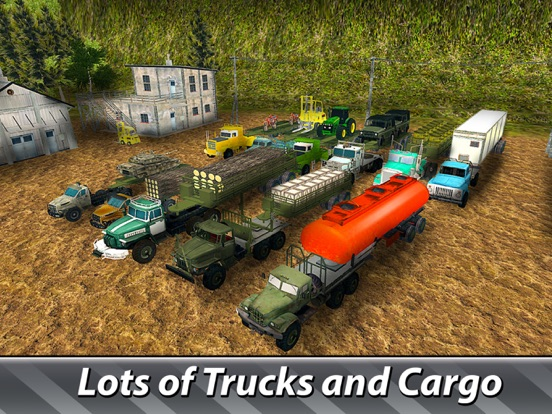 Cargo Trucks Offroad Driving screenshot 7