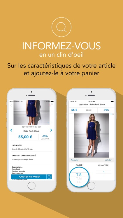 BazarChic, ventes privées mode screenshot-2