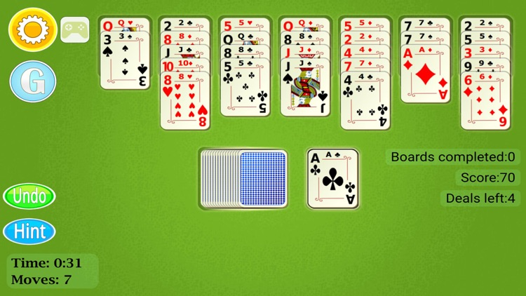 Golf Solitaire Mobile screenshot-2