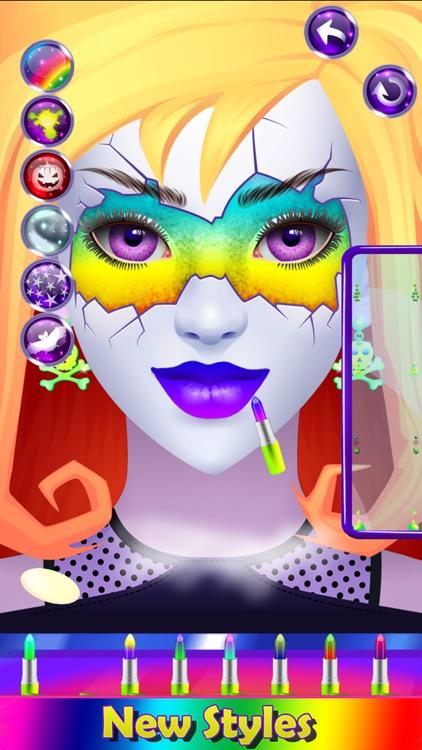 Monster Halloween Make Up screenshot-7