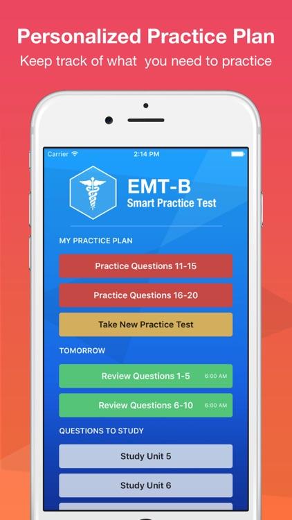 EMT Basic Exam Smart Prep screenshot-3