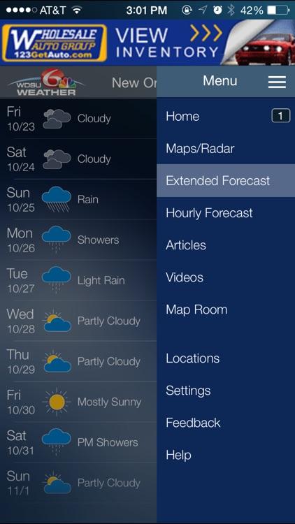 WDSU Exact Weather