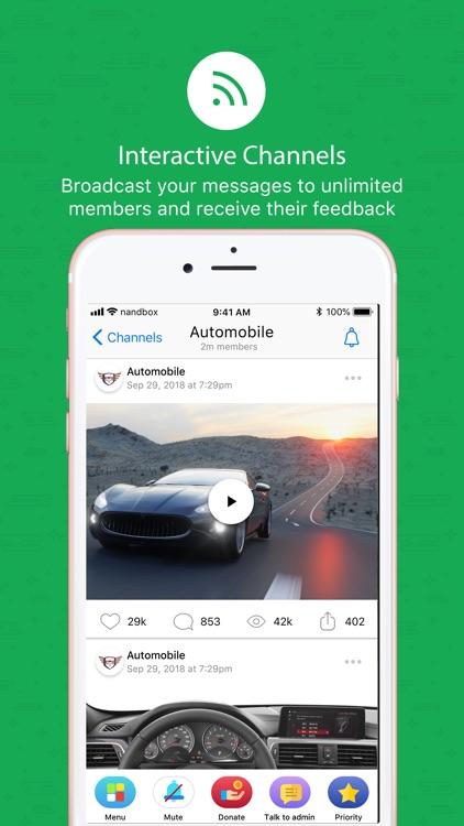nandbox Messenger - Chat
