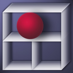 Red ball & Glass maze