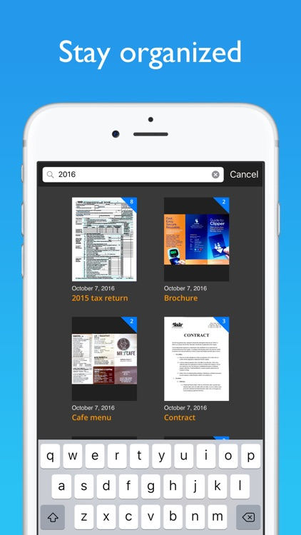 JotNot Scanner App Pro screenshot-3