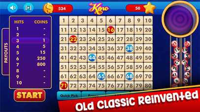 Keno: Lottery Casino Game screenshot four