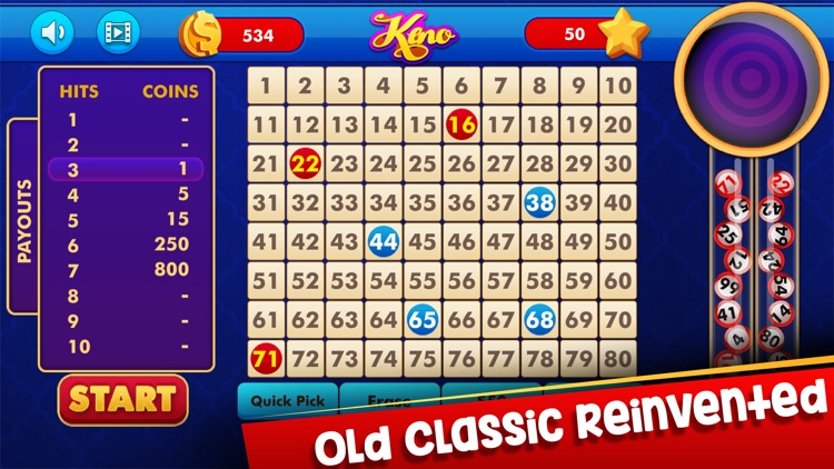 Keno: Lottery Casino Game screenshot-3