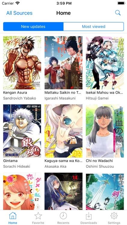 Manga Eden Reader