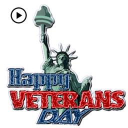 Animated Happy Veterans Day
