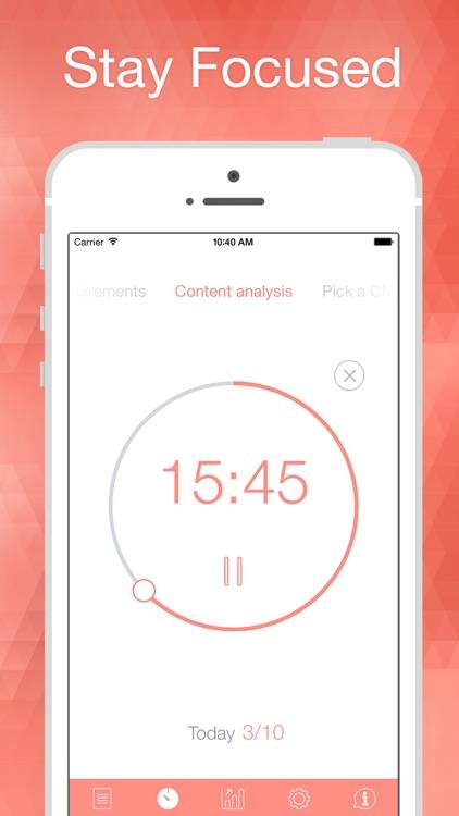 Be Focused Pro - Focus Timer screenshot-0