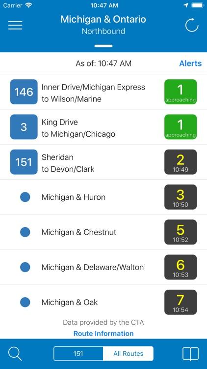 Transit Stop: CTA Tracker. screenshot-3