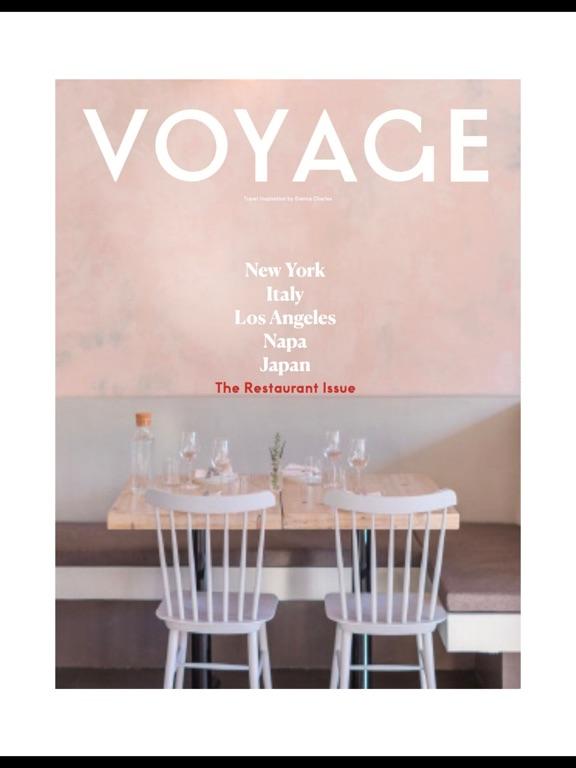 Voyage (Magazine) screenshot 8