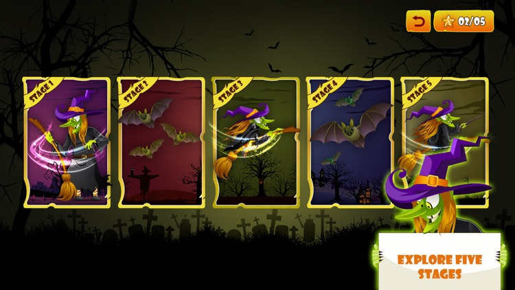Angry Witch on Scary Run screenshot-5