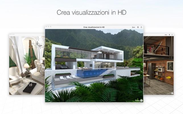 Planner5D Design degli interni sul Mac App Store