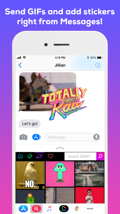 Screenshot 4 for GIPHY's iPhone app'