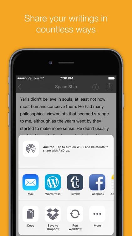 Compo — A Writing App screenshot-3