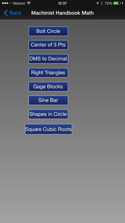 Machinist Handbook - Shop Calculator screenshot-4