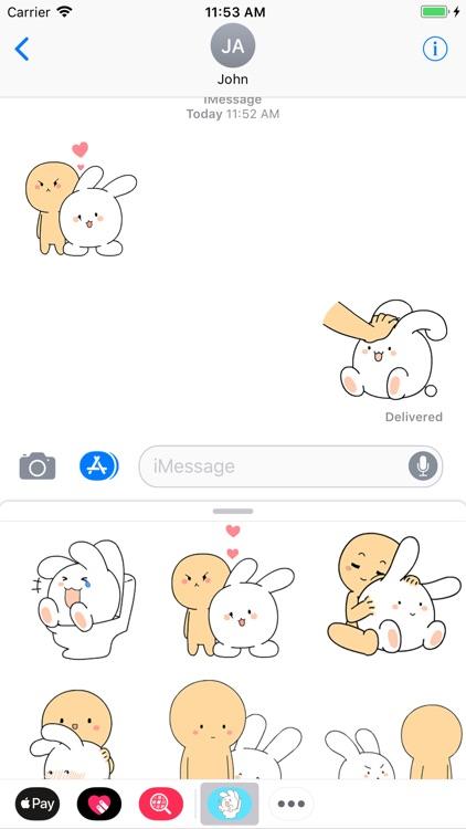 Rabbit and Boy